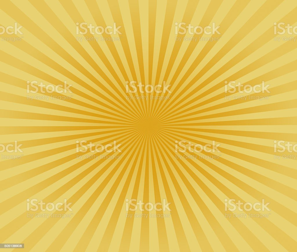 Starburst Yellow Light Beam Abstract Background stock photo