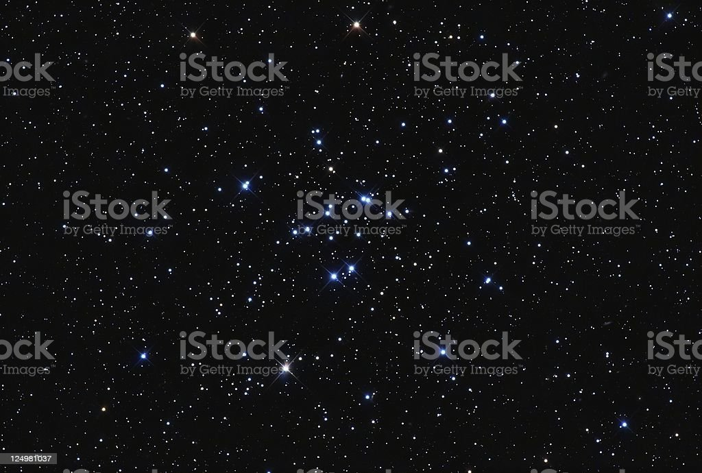 Starcluster M34 stock photo