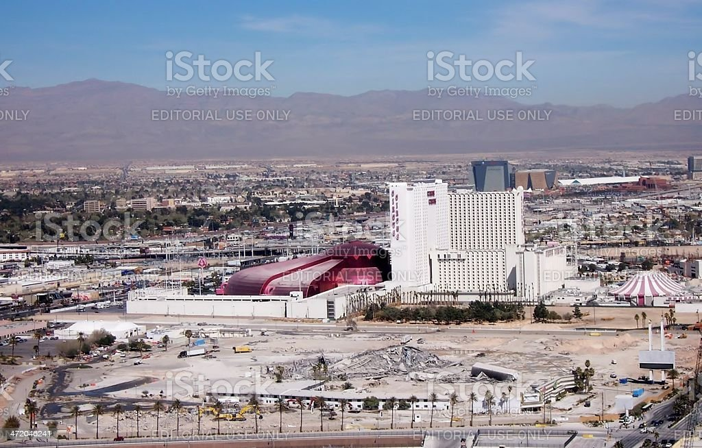 StarDust Casino was imploded stock photo