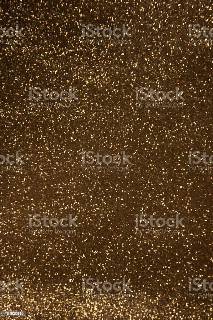 Stardust giltter lights stock photo