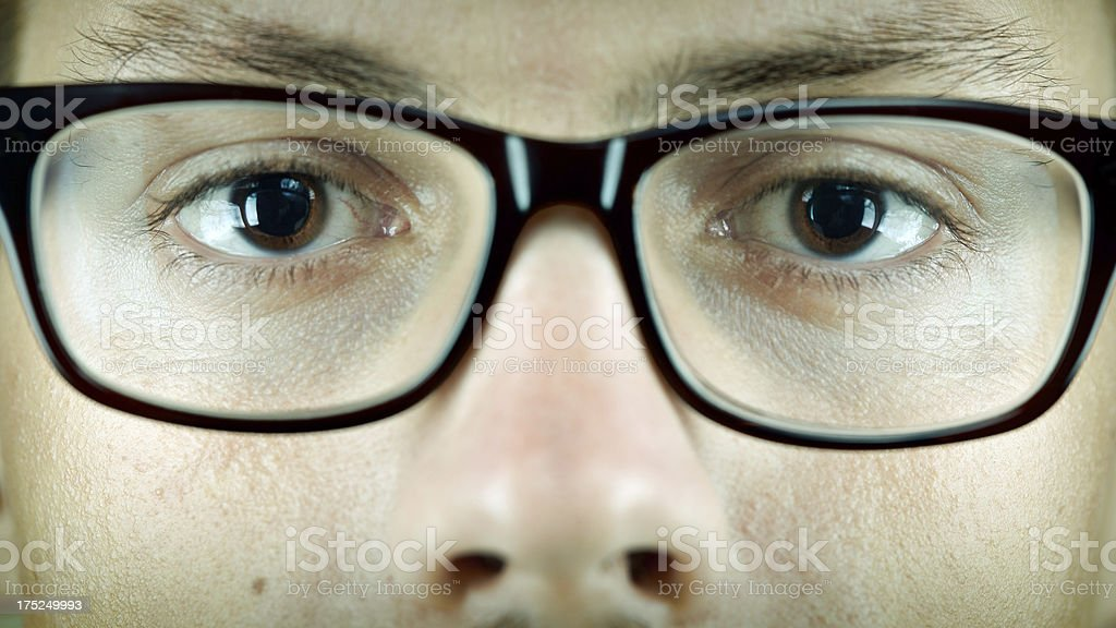 Stare at you royalty-free stock photo