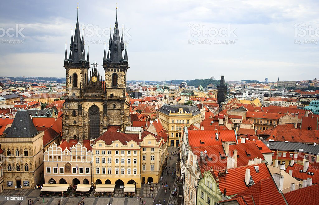 Stare Mesto (Old Town), Prague, Czech Republic royalty-free stock photo