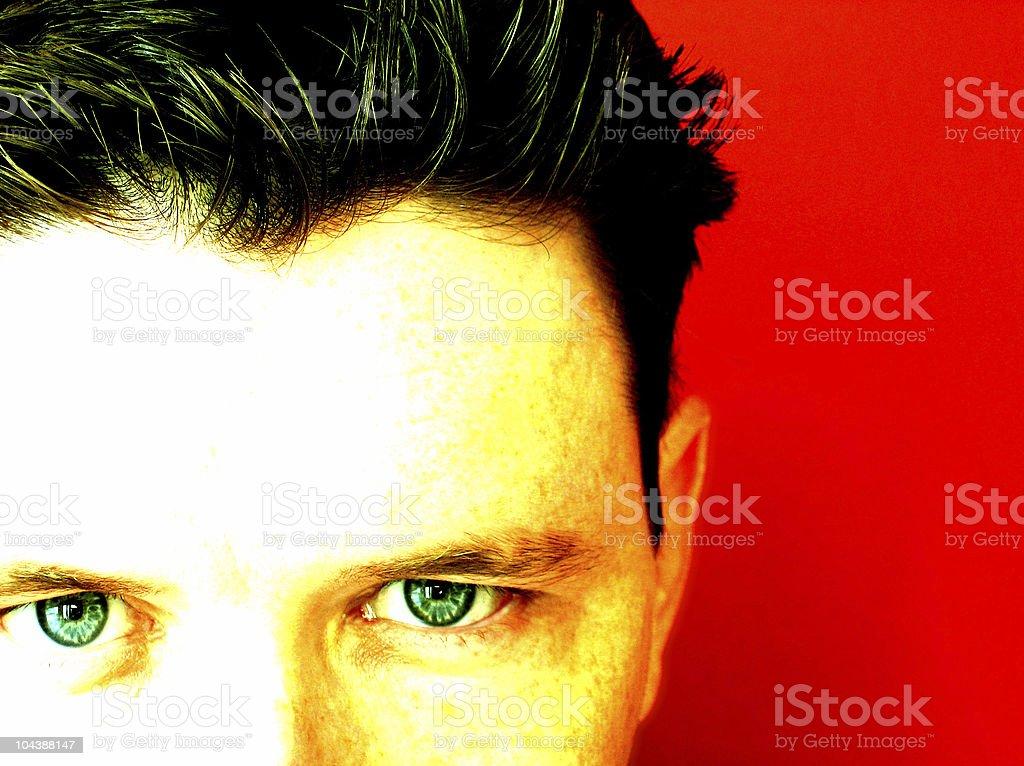 stare stock photo