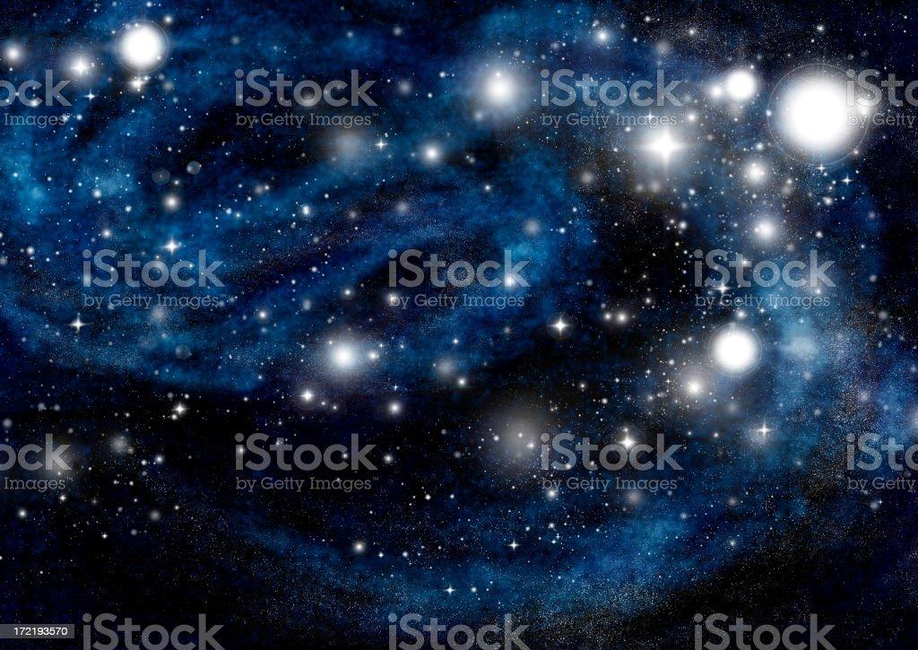 starfield royalty-free stock photo
