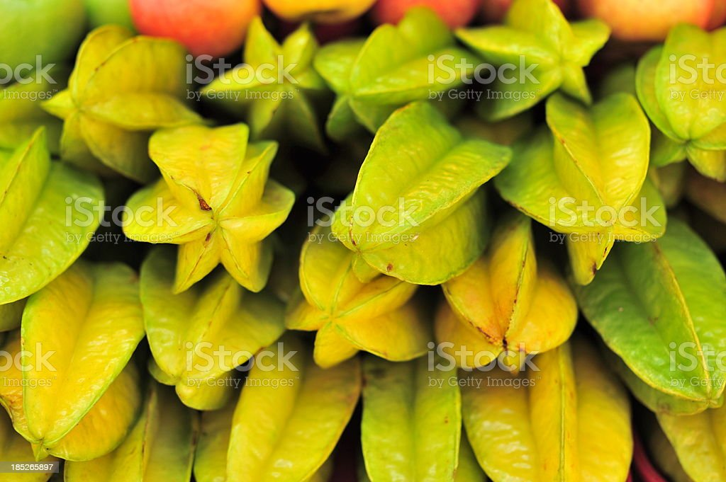 Starfruit stock photo