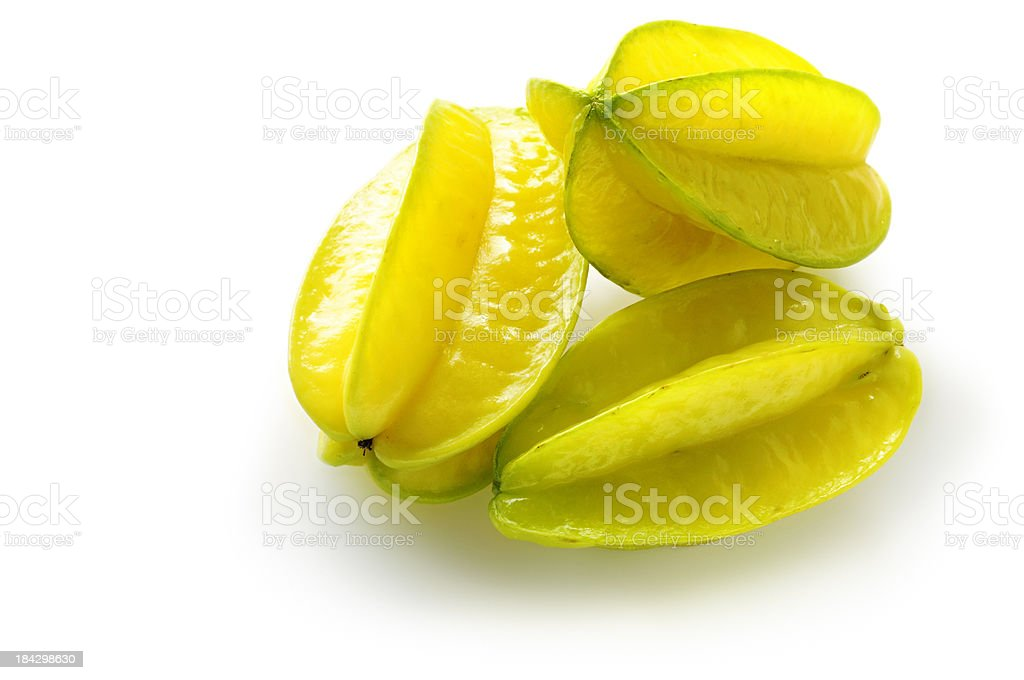 Starfruits stock photo