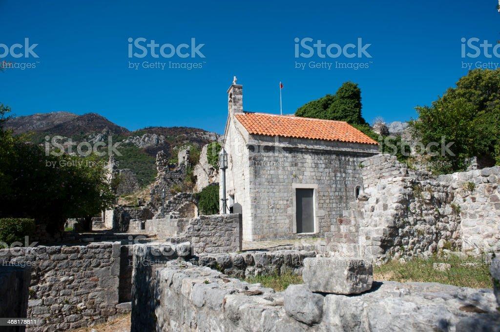 Stari Bar - Montenegro stock photo
