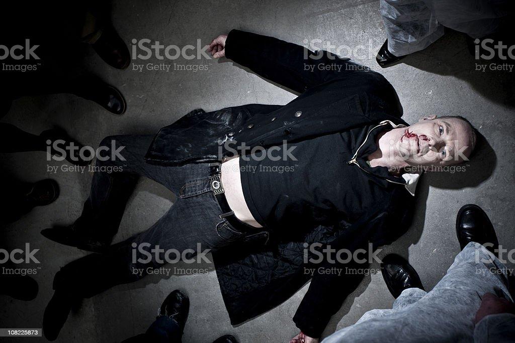 Staring deadman royalty-free stock photo