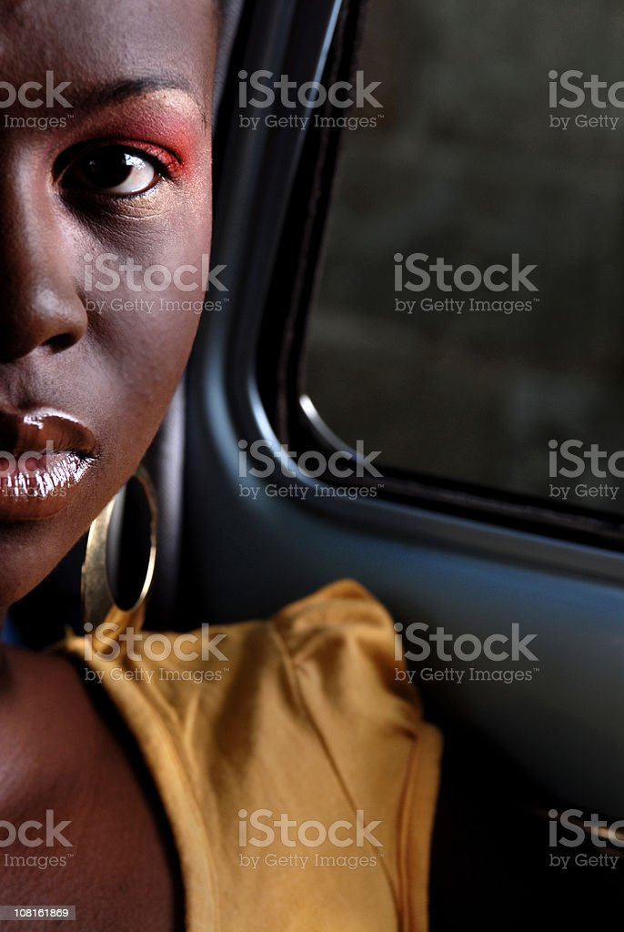 Staring royalty-free stock photo