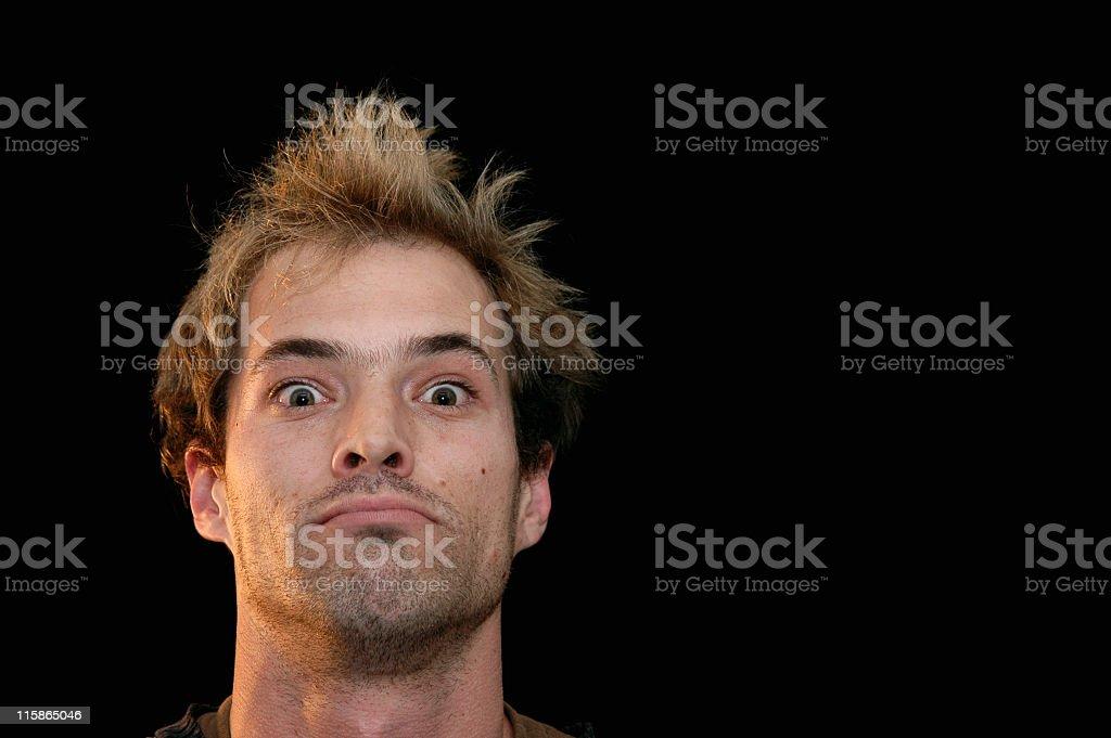 Staring stock photo