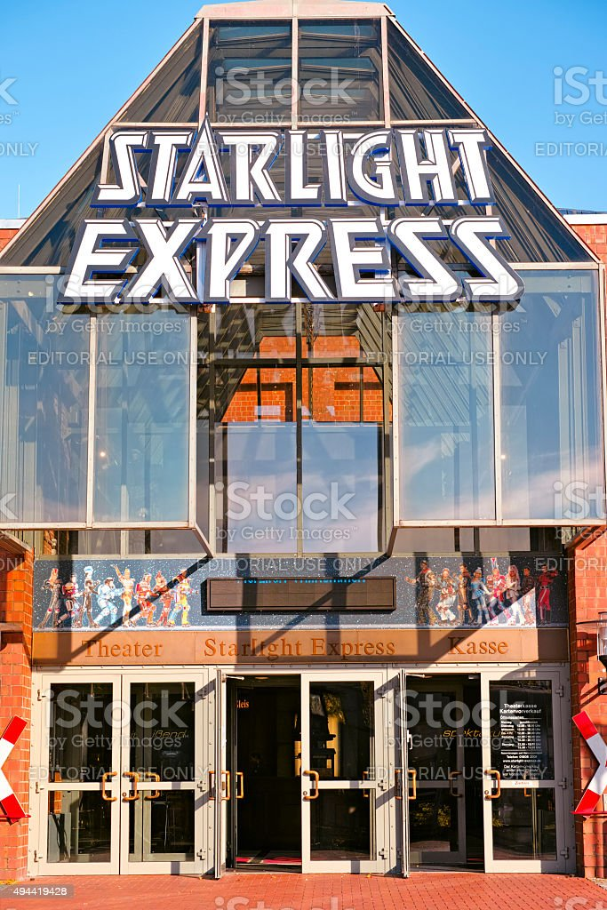 Starlight Express Musical in Bochum stock photo