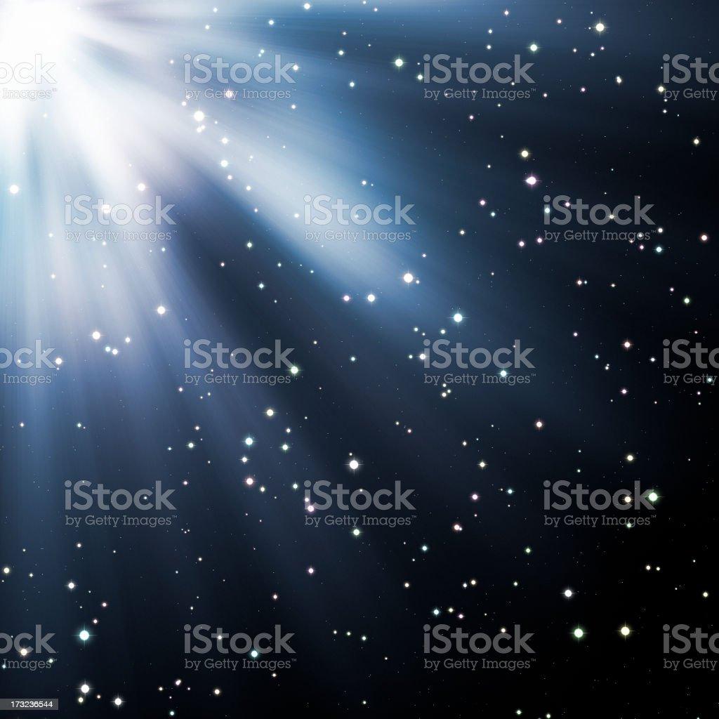 Starlight royalty-free stock photo