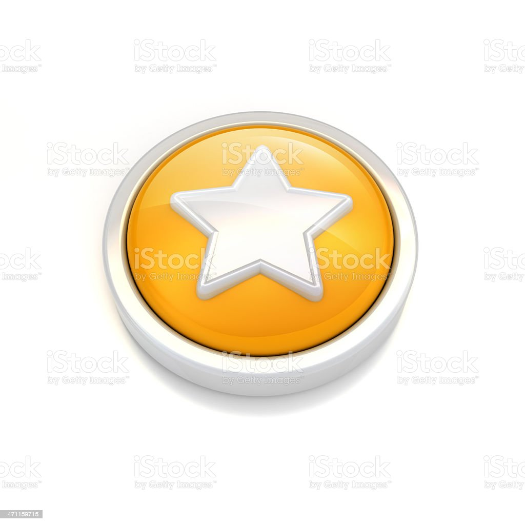starred icon royalty-free stock photo