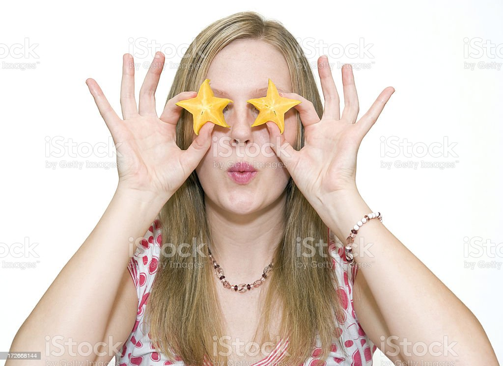 Starry Eyed royalty-free stock photo