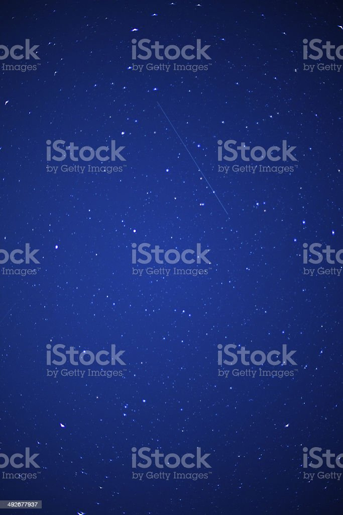 starry night royalty-free stock photo