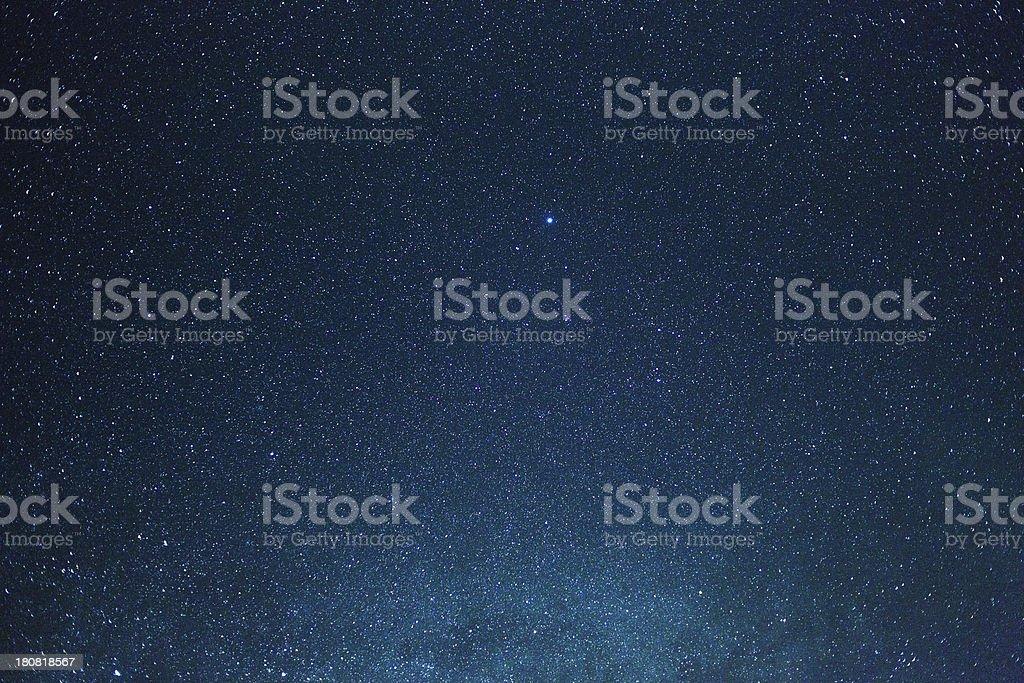 Starry Skies stock photo