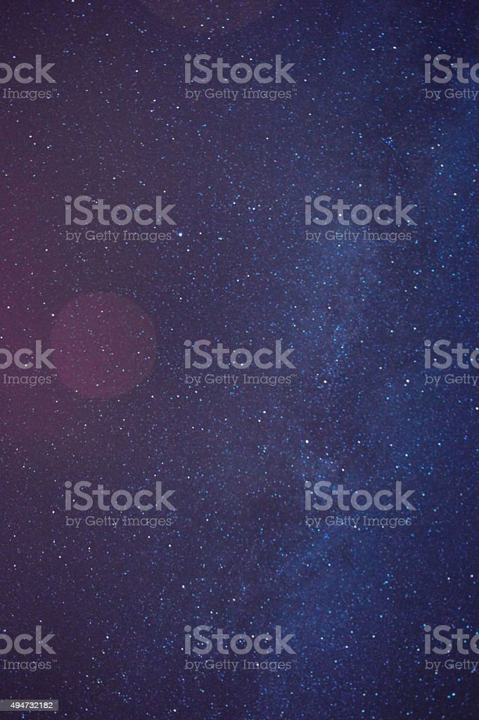 Starry Skies stock photo