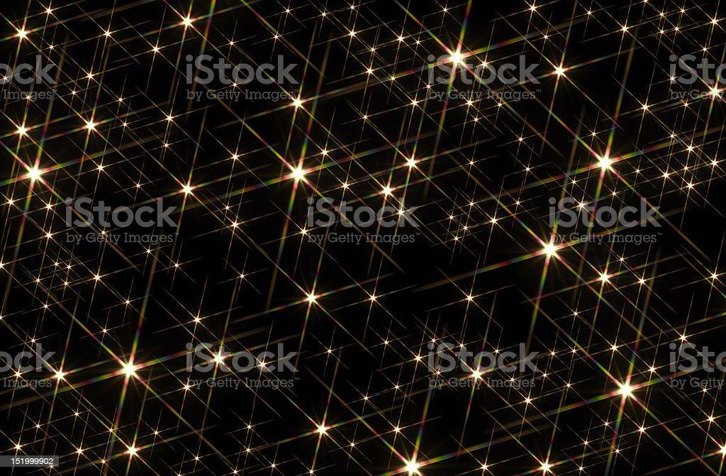 starry sky background stock photo