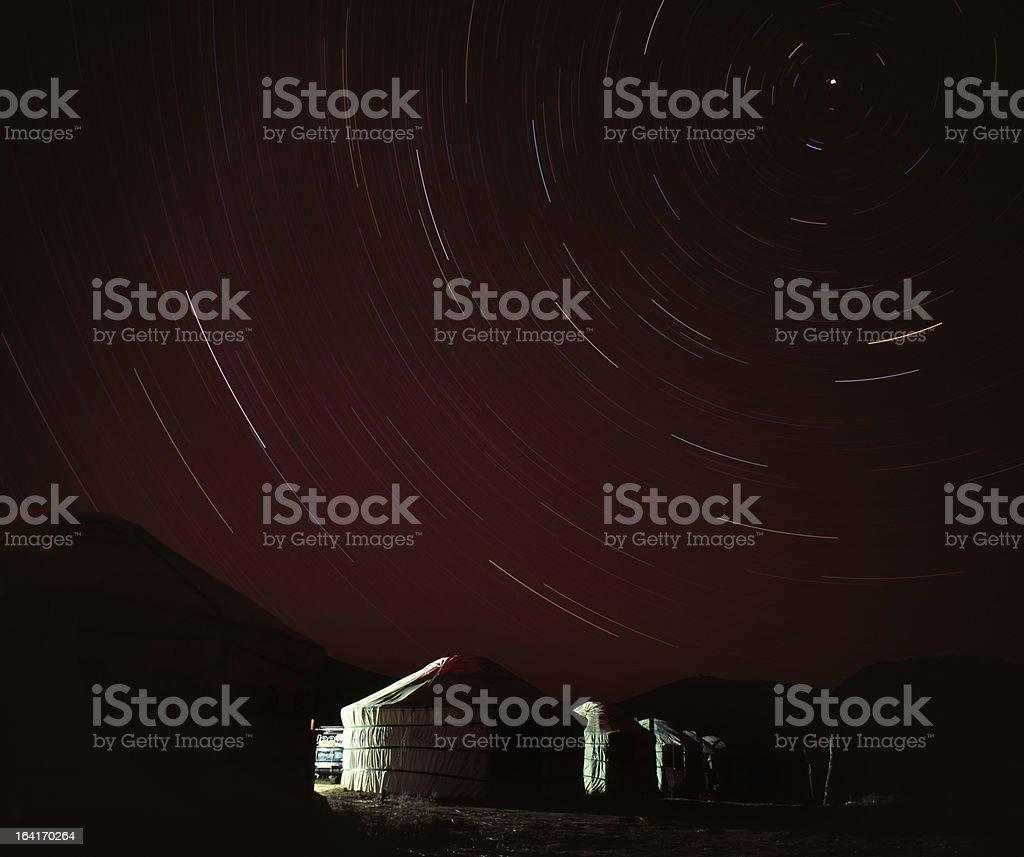 Starry Sky royalty-free stock photo