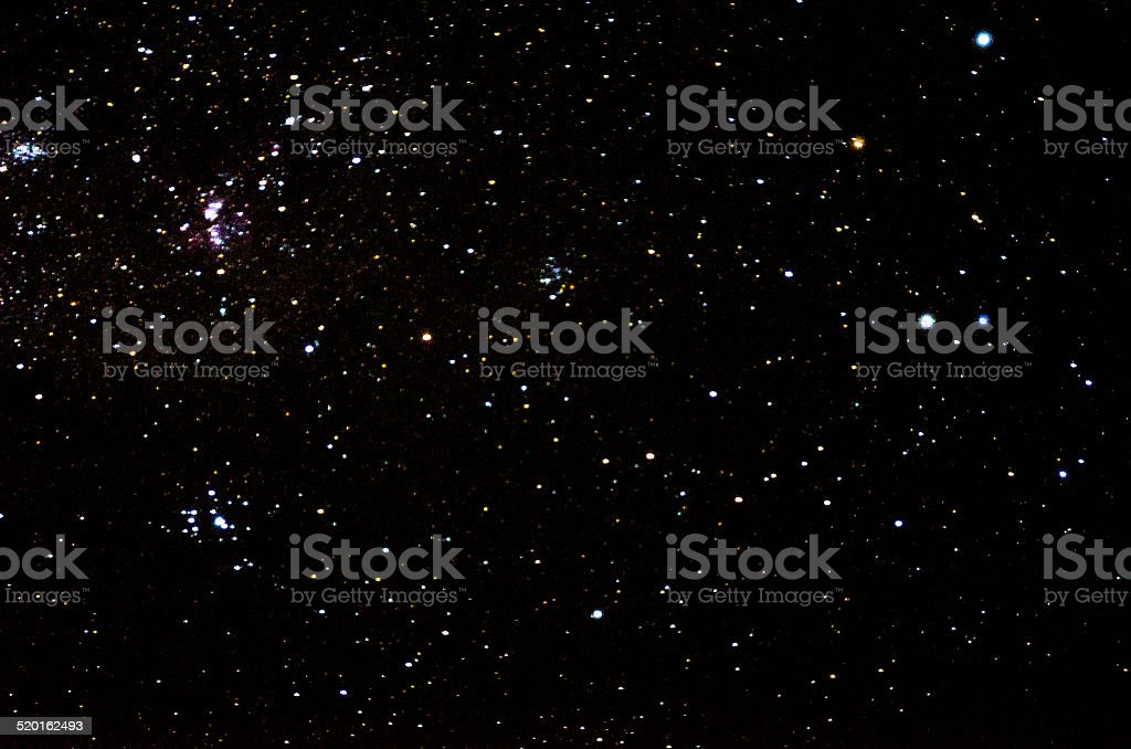 Stars and galaxy space sky stock photo