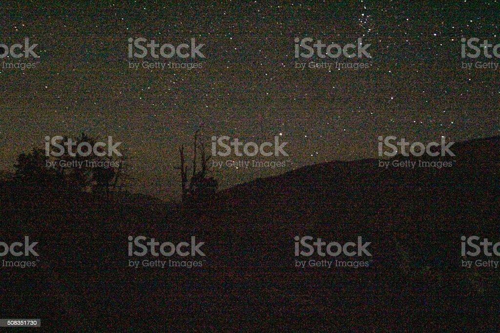 stars and land stock photo