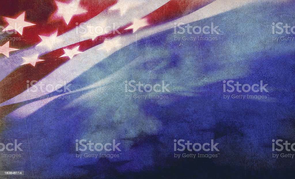 stars and stripes background royalty-free stock photo