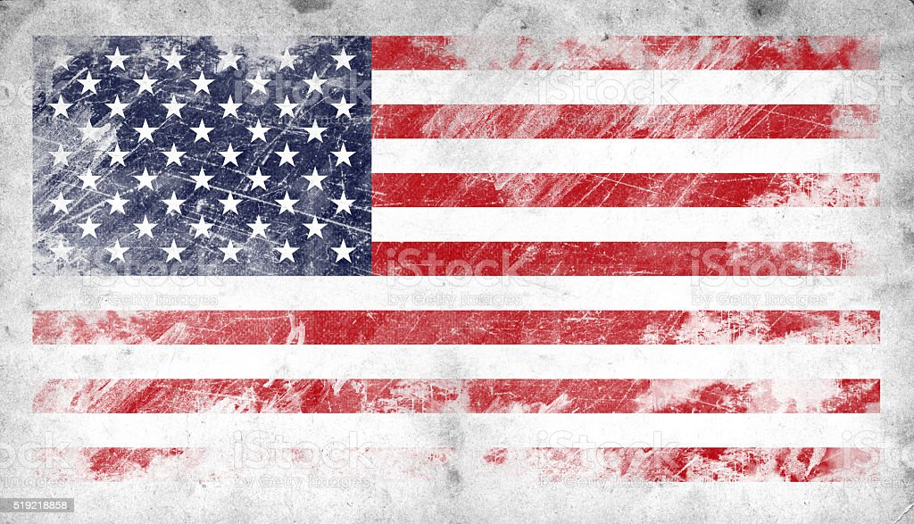 USA Stars and Stripes Flag stock photo