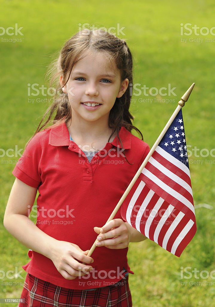 Stars and Stripes Forever royalty-free stock photo