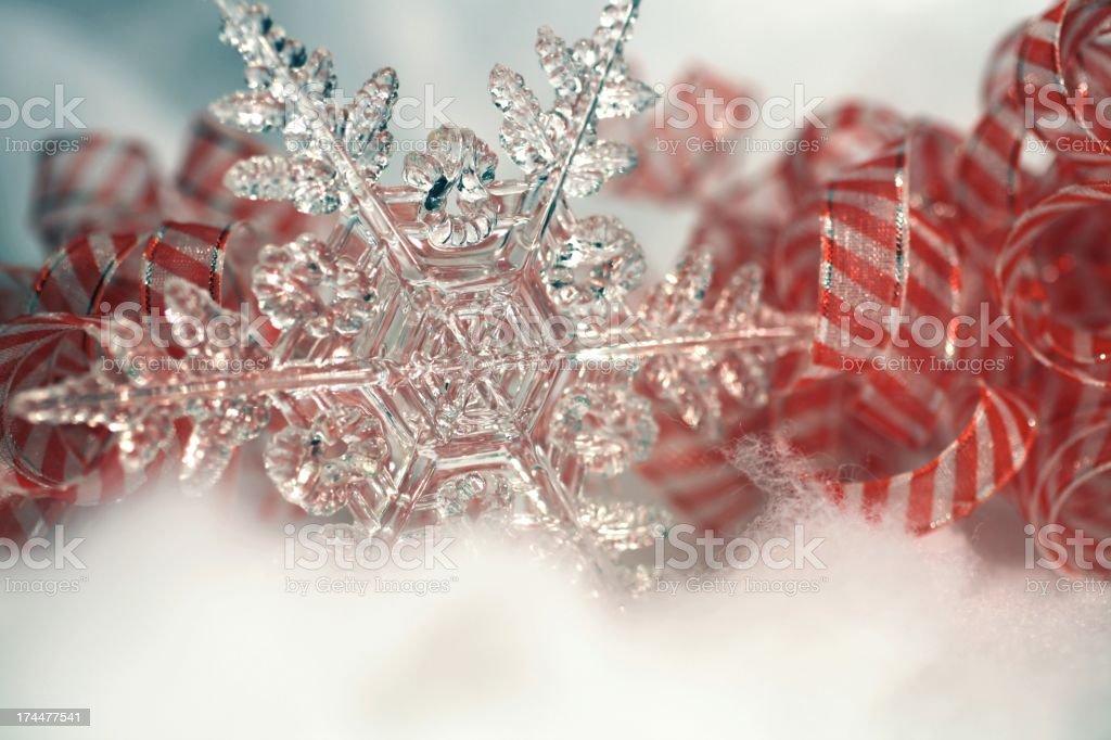 Stars and Stripes Patriotic Christmas stock photo