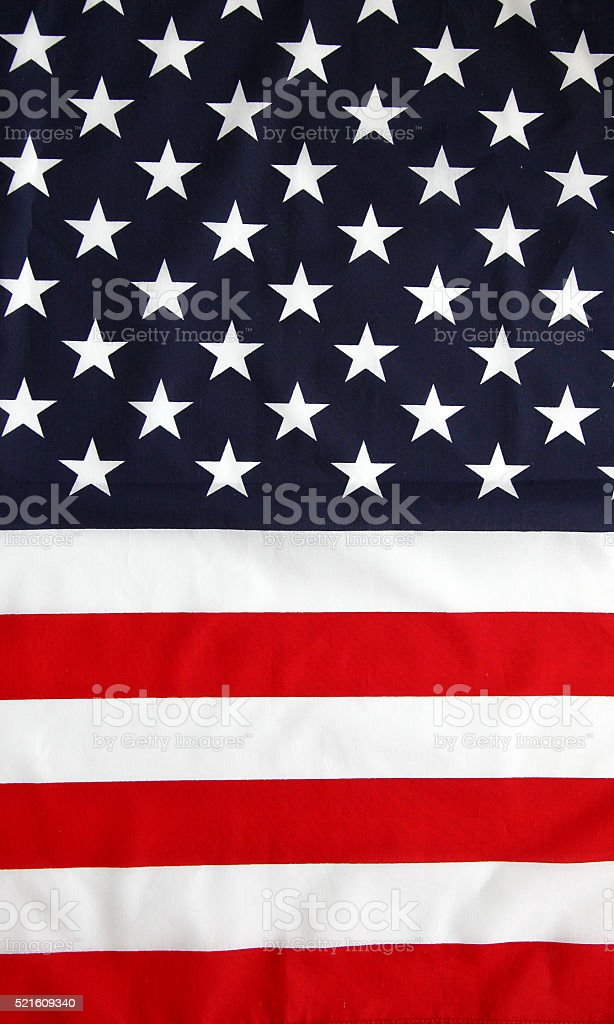 stars and stripes. USA stock photo