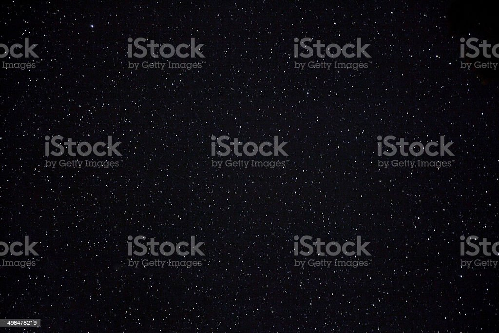 Stars at night sky stock photo