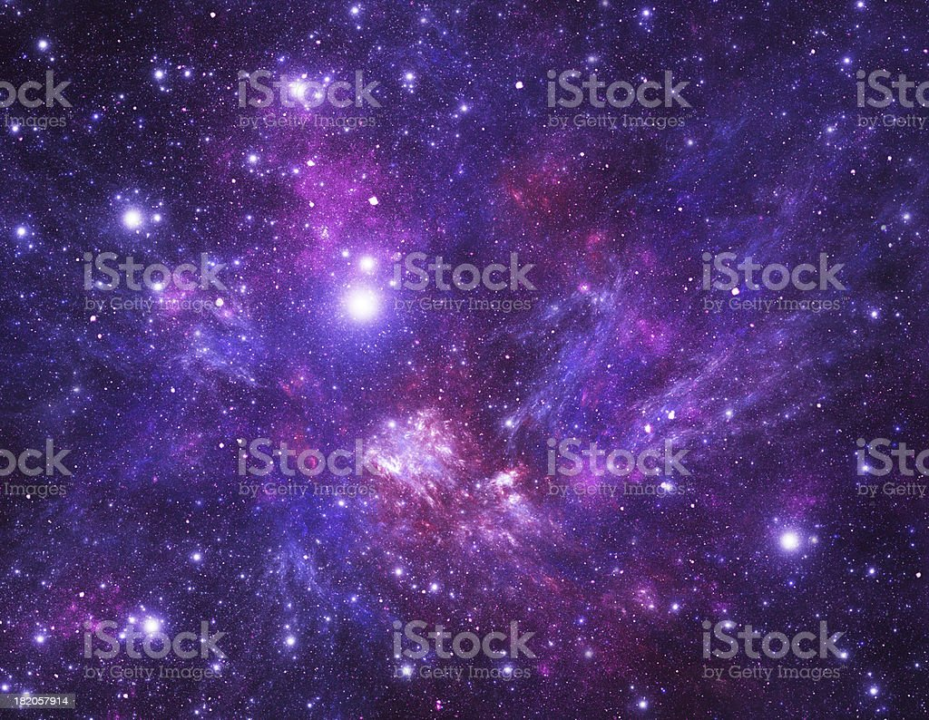 Stars background stock photo