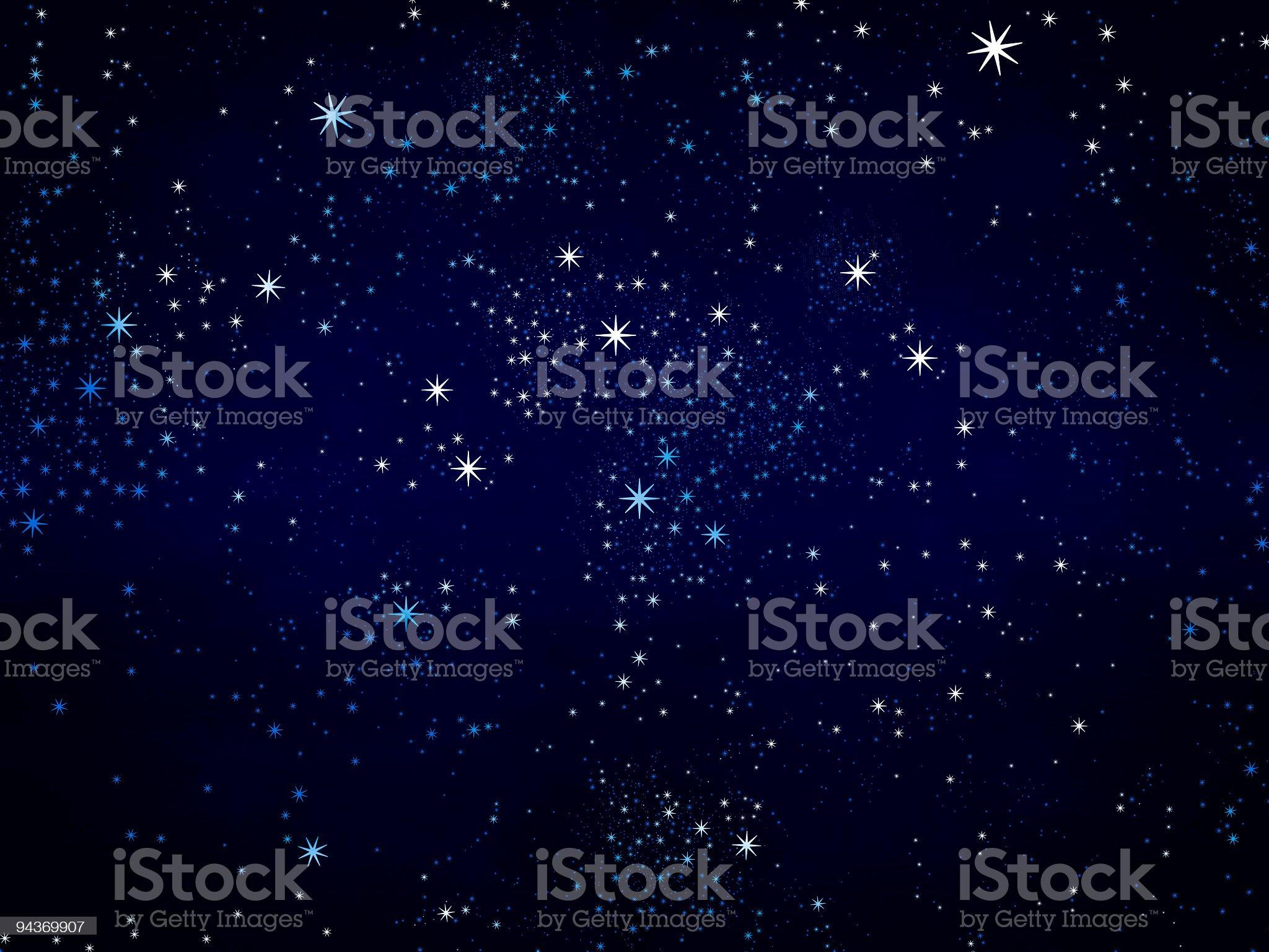 Stars background royalty-free stock photo