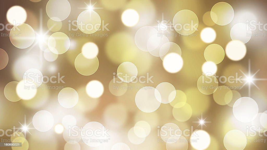 Stars Bokeh Bigger HD Ratio royalty-free stock photo