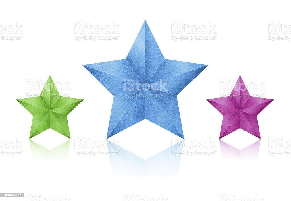 Stars isolated stock photo