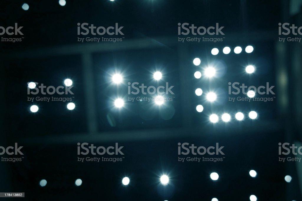 stars lighting stock photo