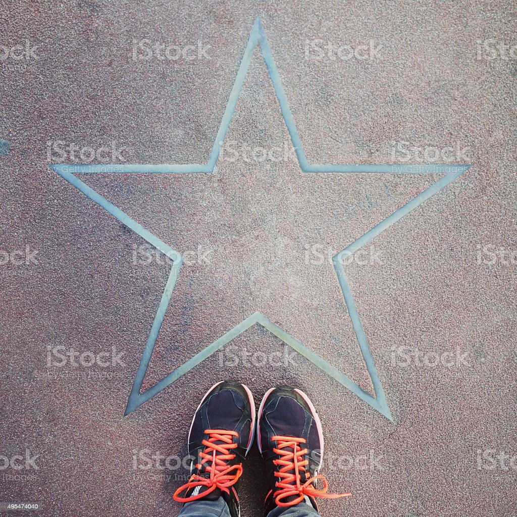 Stars of Berlin, Germany stock photo