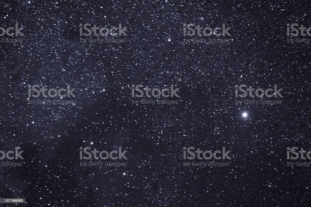 Stars of Cygnus stock photo