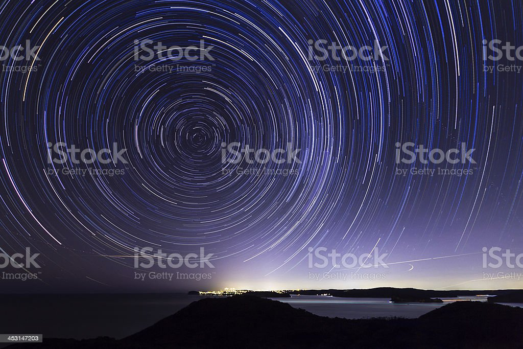 Stars over Sydney. royalty-free stock photo
