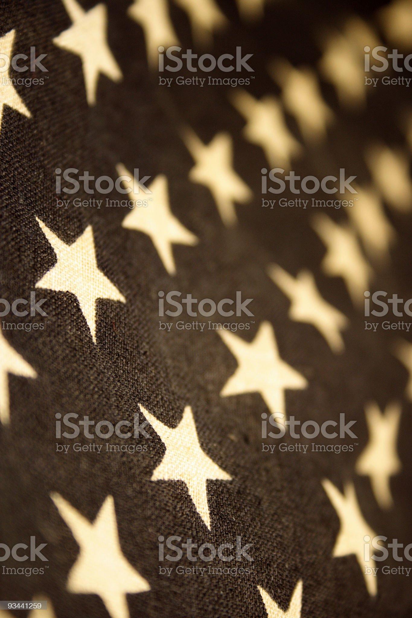 US Stars royalty-free stock photo