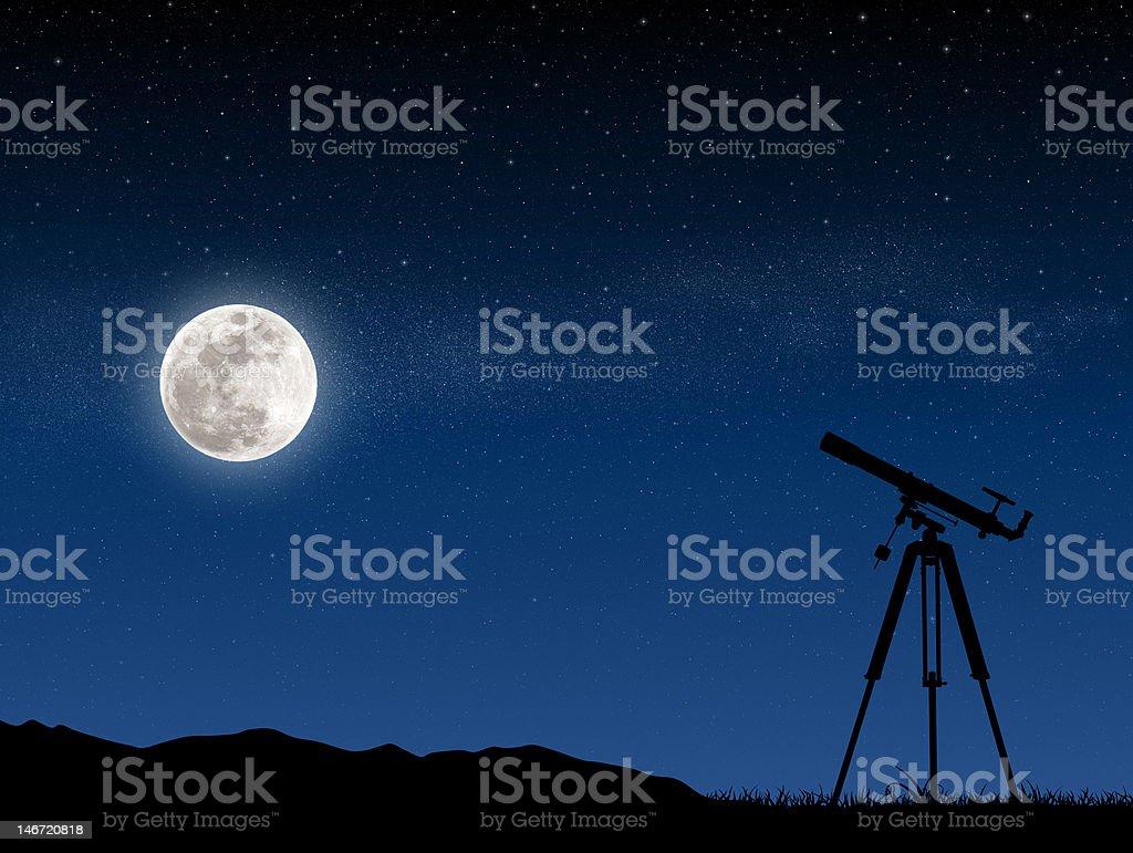 Stars sky royalty-free stock photo
