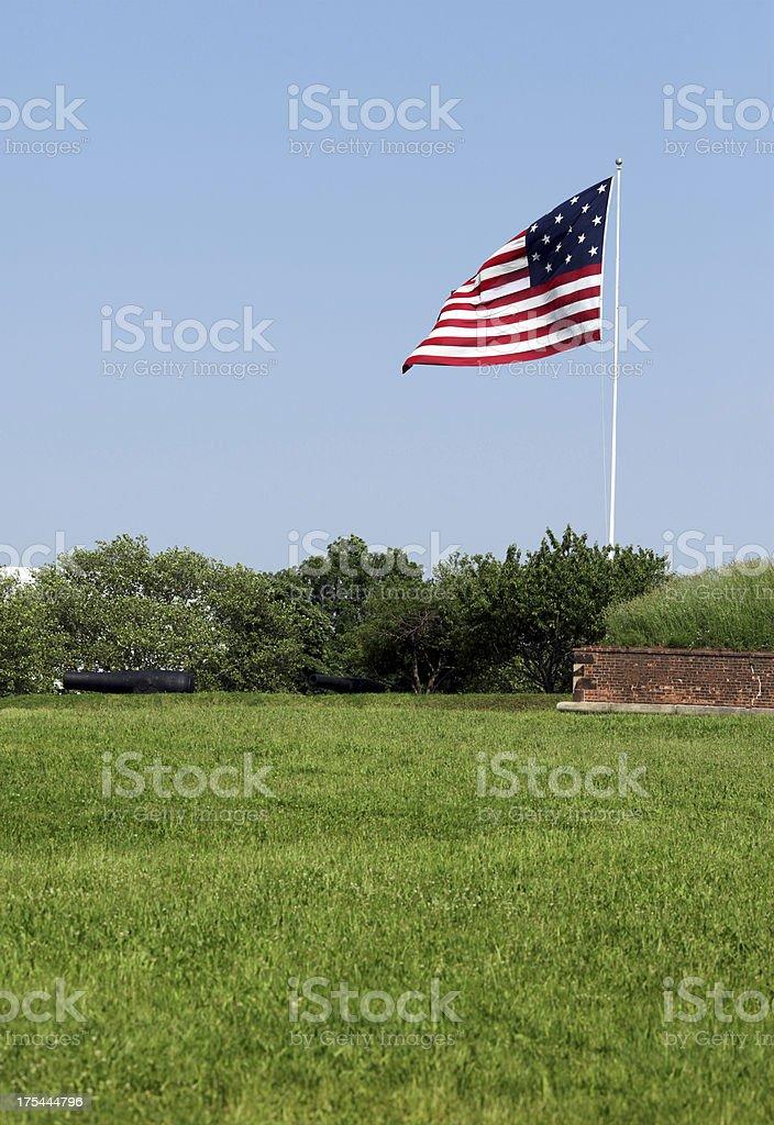 Star-Spangled Banner American Flag stock photo