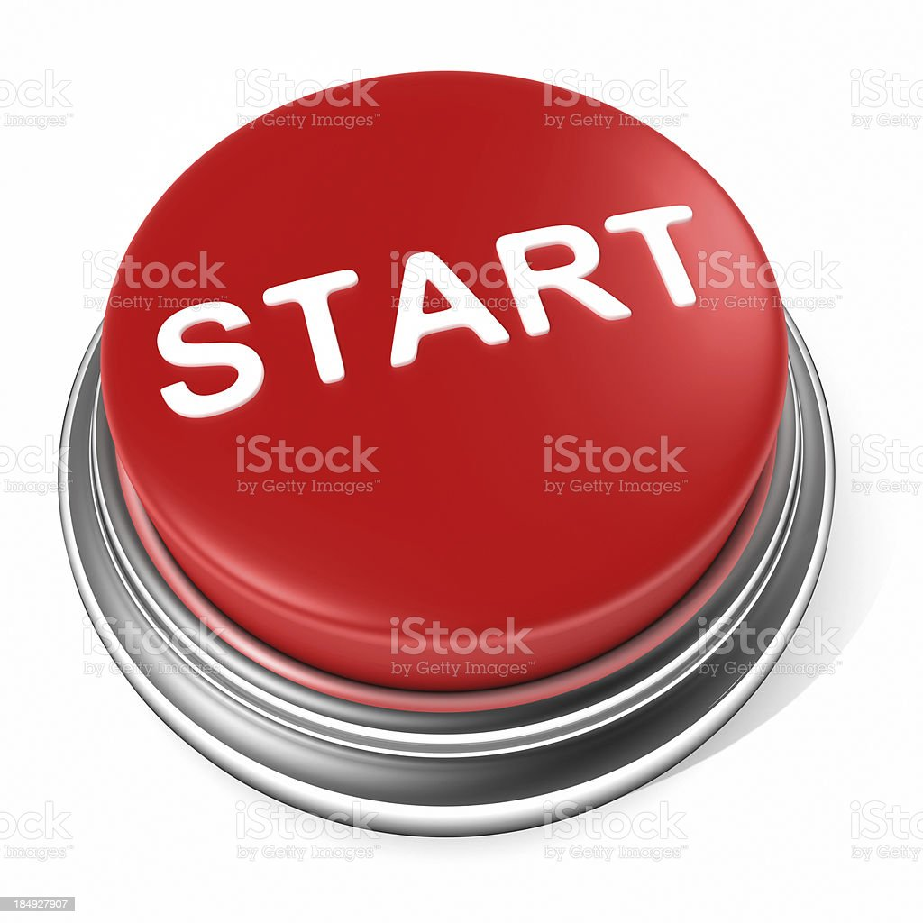 Start button royalty-free stock photo