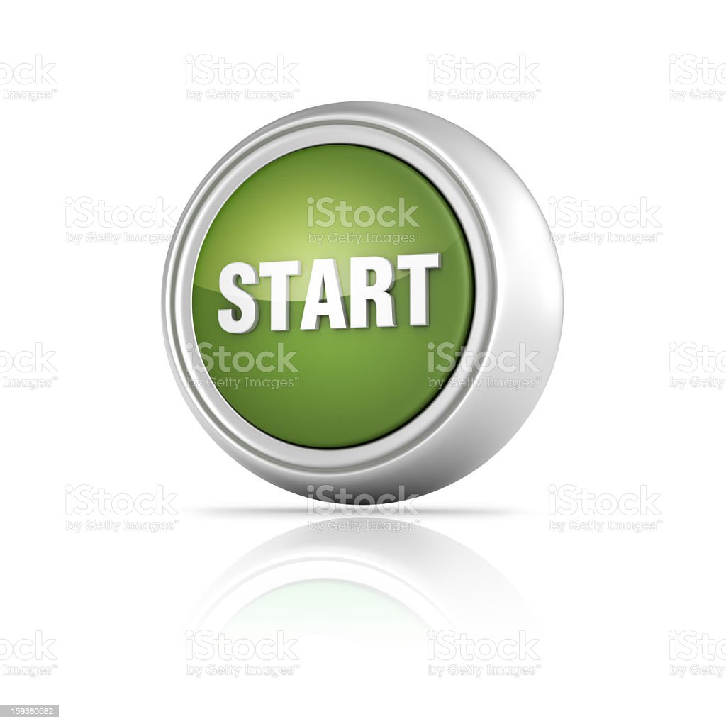 Start Icon royalty-free stock photo