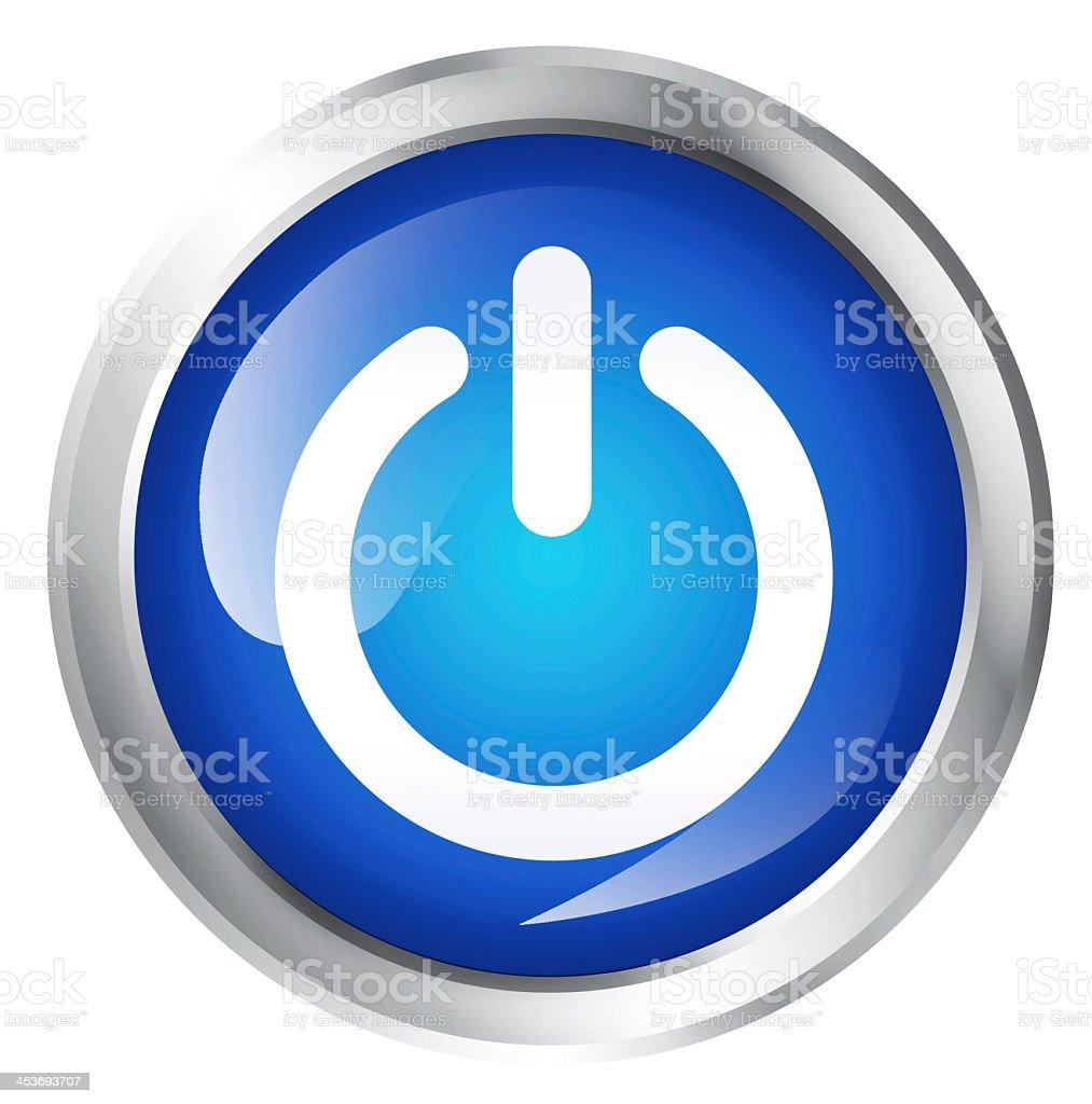 Start icon stock photo