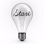 Start lightbulb