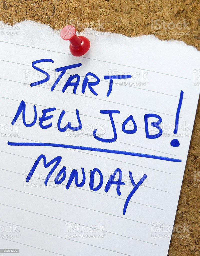 start new job note stock photo istock 1 credit