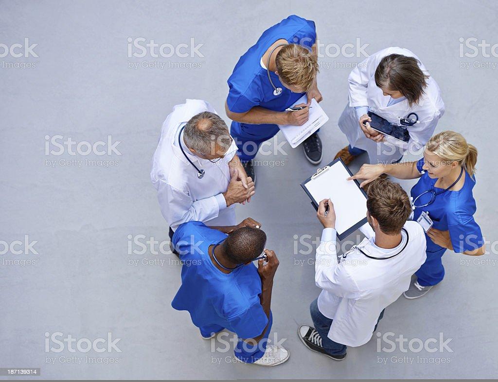 Start of a shift stock photo