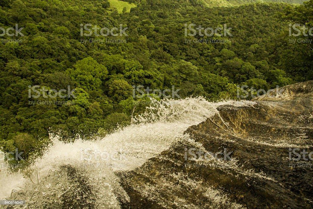 Start of Waterfall stock photo
