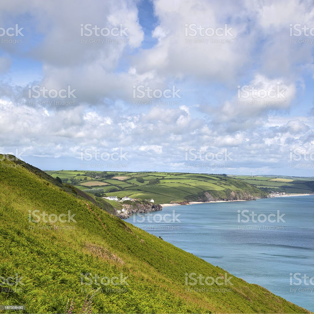 Start Point, Devon stock photo